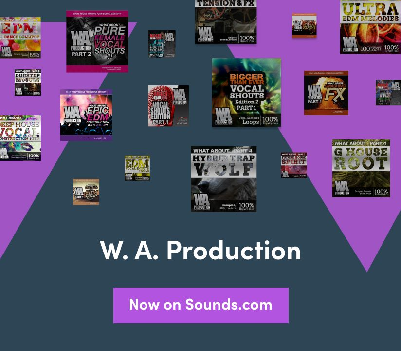 Promotional banner for WA Production Banner