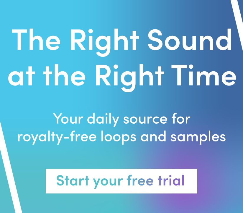 Promotional banner for Right Sound Right Time