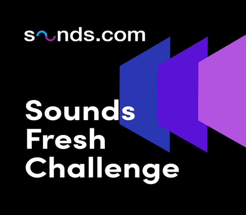 Promotional banner for Sounds Fresh Challenge Page