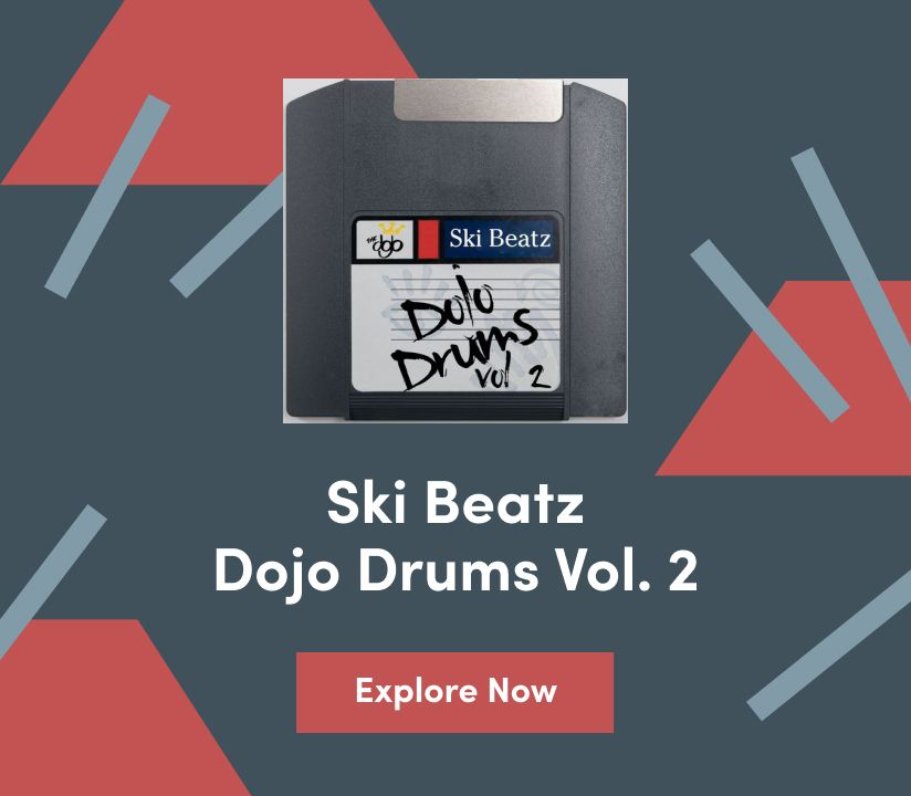 Promotional banner for Ski Beatz - Dojo Vol. 2