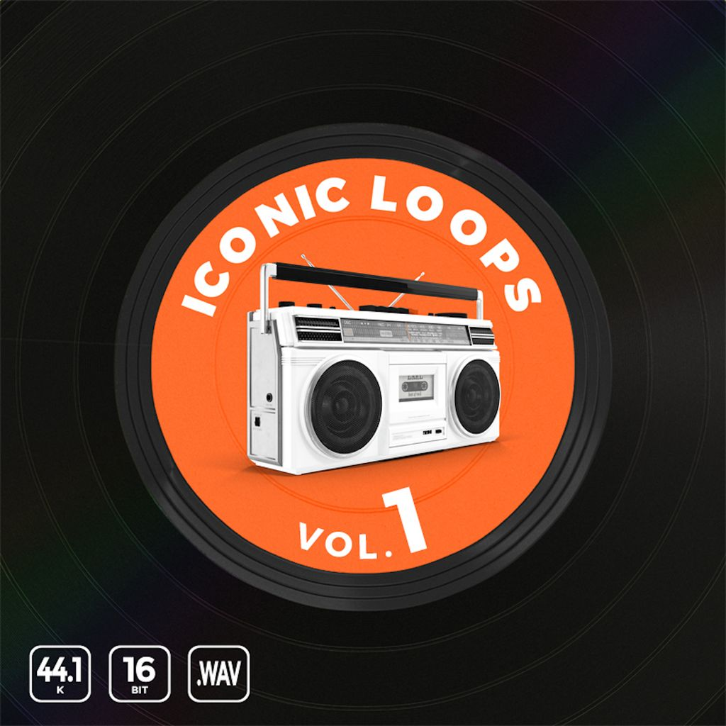 SOUNDS | Iconic Loops Vol  1 | Cross 122 Bpm Hip Hop Drum
