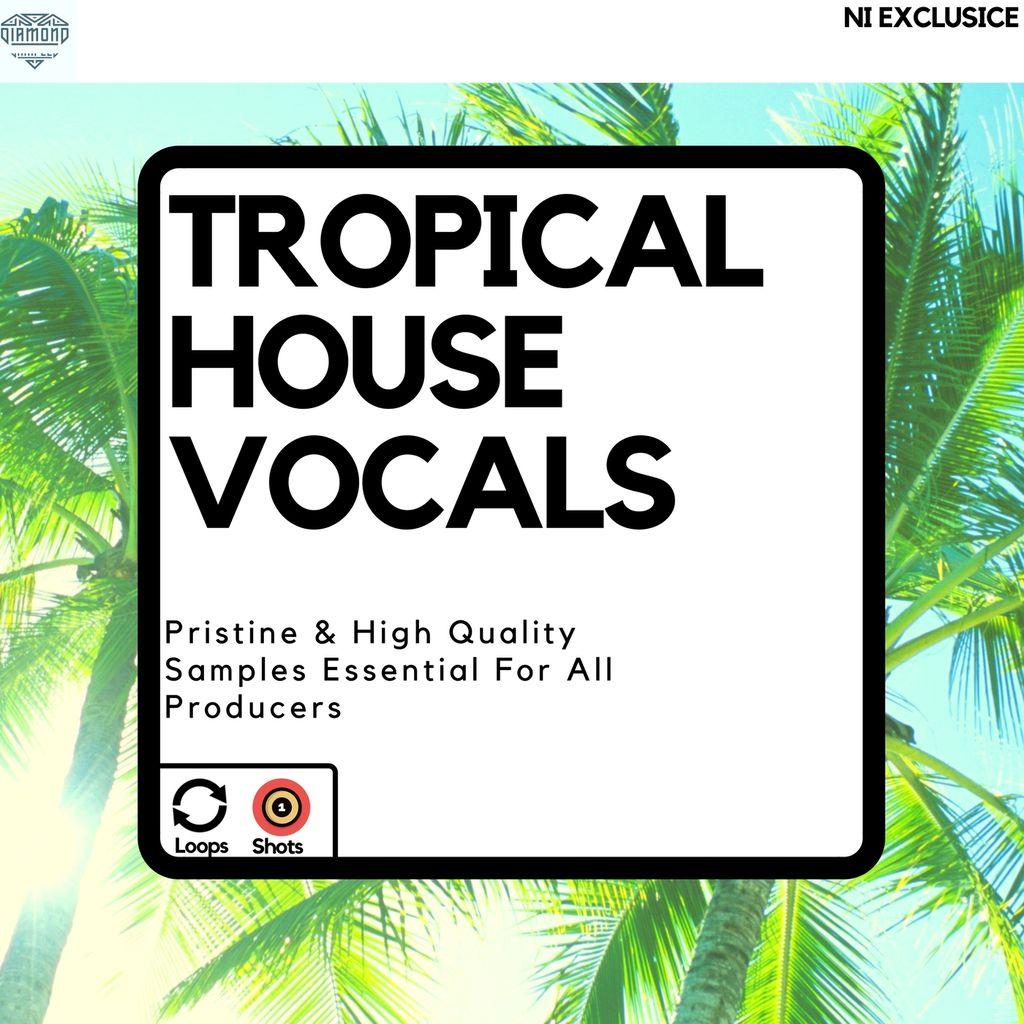 SOUNDS | Tropical House Vocals | 100 Bpm Tropic Pluck Lead C#min