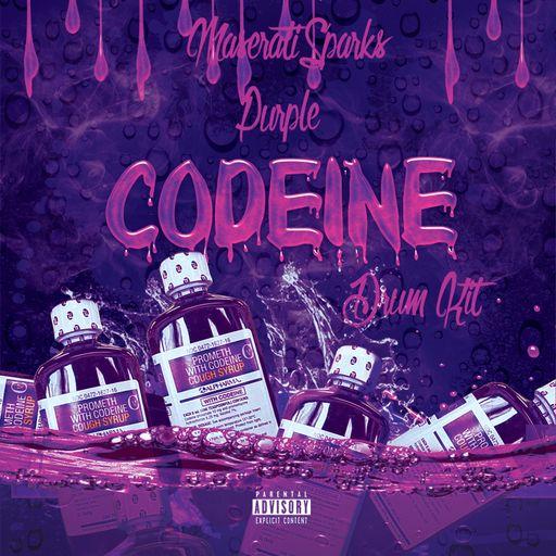 Purple Codeine Drum Kit