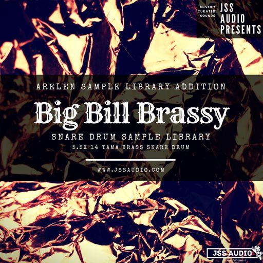 Big Bill Brassy: Tama Brass Snare Drum