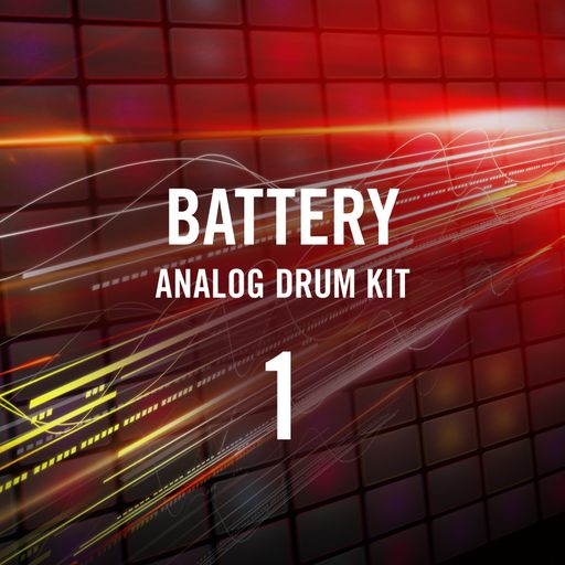 Battery Selected Samples 1 Analog Drum Kit