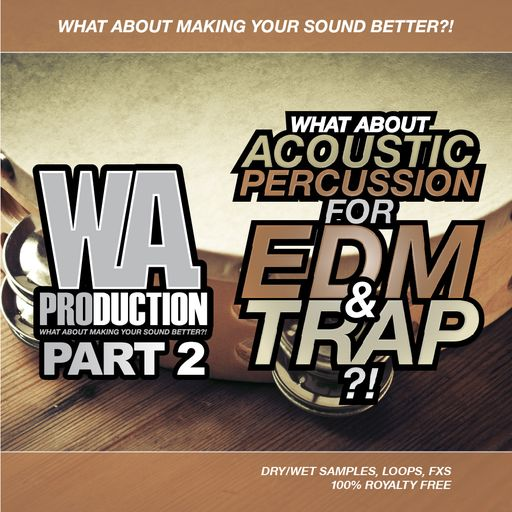 Acoustic Percussion For EDM & Trap (Part 2)