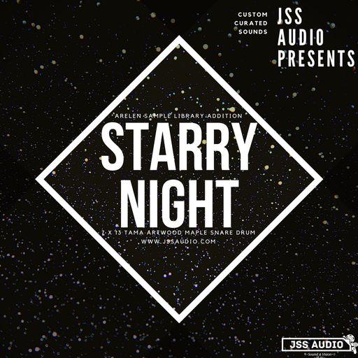 Starry Night: Tama Maple Snare Drum