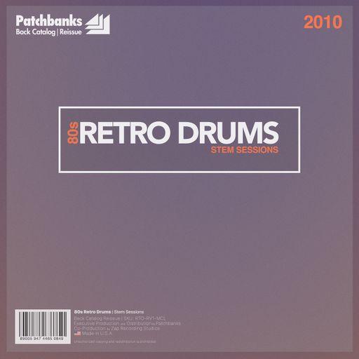 80s Retro Drums