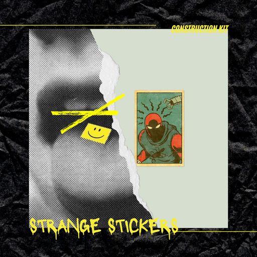 Strange Stickers