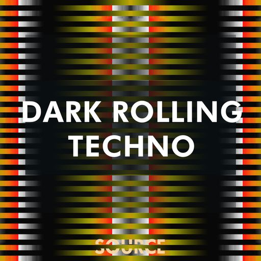Dark Rolling Techno - Percussion & Top Loops