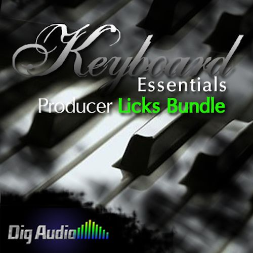 Keyboard Essentials Producers Licks Bundle