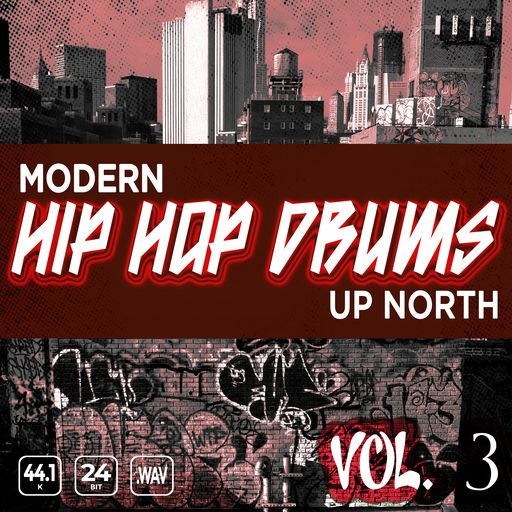 Modern Up North Hip Hop Drums Vol 3