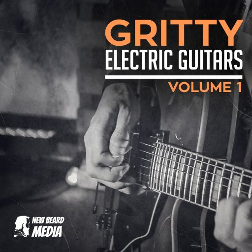 SOUNDS | Gritty Electric Guitars Vol 1 | 75 BPM - Am - Thin Silver