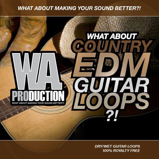 Country EDM Guitar Loops