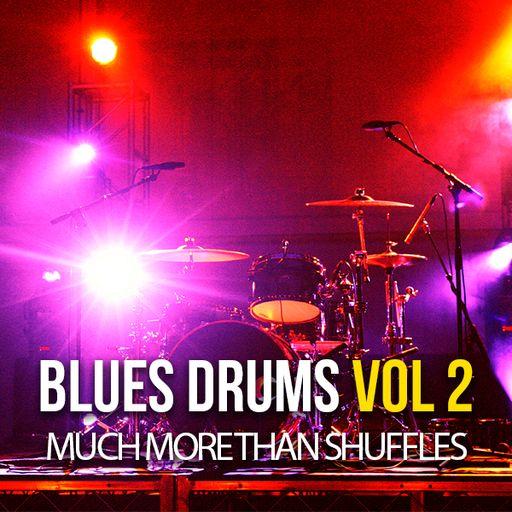 Blues Drums Volume 2