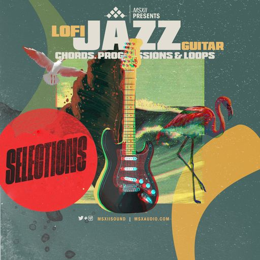Lofi Jazz Guitar Selections