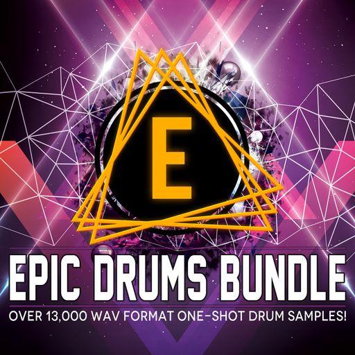 Epic Drums Bundle - 13,000+ Drum One Shots