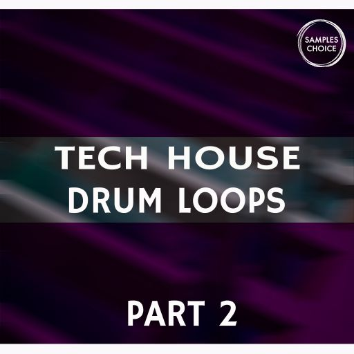 Tech House Drum Loops Part 2