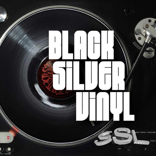 Black Silver Vinyl