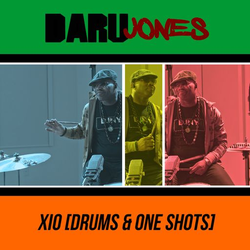 Daru Jones - Xio (Drums & One-Shots)
